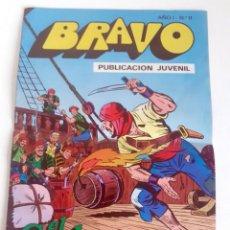 Tebeos: TEBEO BRAVO 1976 EDITORIAL BRUGUERA EL CACHORRO EL ASALTO A ALMUÑECAR Nº11 6. Lote 204809513