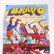 Tebeos: TEBEO BRAVO 1976 EDITORIAL BRUGUERA EL CACHORRO ACOSO IMPLACABLE Nº61 31. Lote 204810568