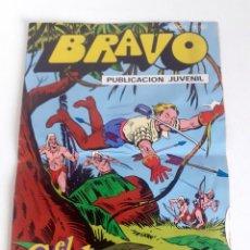 Tebeos: TEBEO BRAVO 1976 EDITORIAL BRUGUERA EL CACHORRO MUERTE EN LAS TINIEBLAS Nº55 28. Lote 204810971