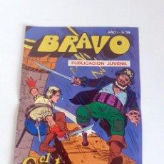 Tebeos: TEBEO BRAVO 1976 EDITORIAL BRUGUERA EL CACHORRO TRIPLE DUELO Nº59 30. Lote 204811836
