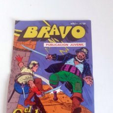 Tebeos: TEBEO BRAVO 1976 EDITORIAL BRUGUERA EL CACHORRO TRIPLE DUELO Nº59 30. Lote 204811935