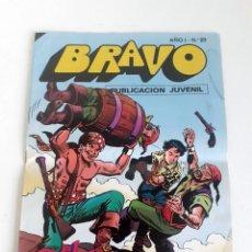 Tebeos: TEBEO BRAVO 1976 EDITORIAL BRUGUERA EL CACHORRO RODEADOS DE PELIGROS Nº23 12. Lote 204813117