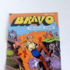 Tebeos: TEBEO BRAVO 1976 EDITORIAL BRUGUERA EL CACHORRO PIRATAS Y CANIBALES Nº57 29. Lote 204813591
