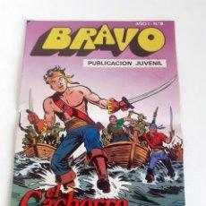 Tebeos: TEBEO BRAVO 1976 EDITORIAL BRUGUERA EL CACHORRO EL FIN DE LA PARTIDA Nº9 5. Lote 204814288