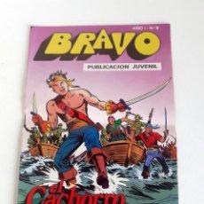 Tebeos: TEBEO BRAVO 1976 EDITORIAL BRUGUERA EL CACHORRO EL FIN DE LA PARTIDA Nº9 5. Lote 204814376