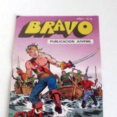 Tebeos: TEBEO BRAVO 1976 EDITORIAL BRUGUERA EL CACHORRO EL FIN DE LA PARTIDA Nº9 5. Lote 204814475