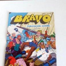 Tebeos: TEBEO BRAVO 1976 EDITORIAL BRUGUERA EL CACHORRO EL CAPITAN BATAN Nº53 27. Lote 204814932