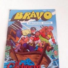 Tebeos: TEBEO BRAVO 1976 EDITORIAL BRUGUERA EL CACHORRO EL TESORO ESCONDIDO Nº51 26. Lote 204815168