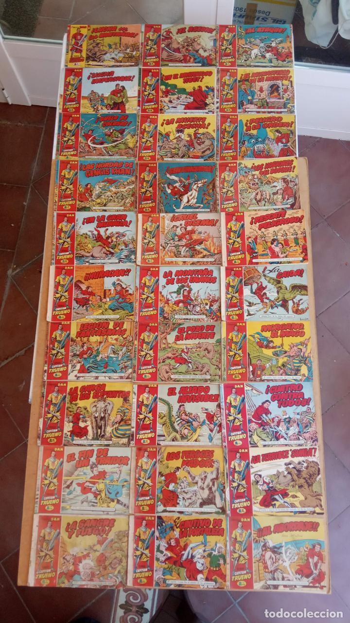 Tebeos: EL CAPITÀN TRUENO ORIGINAL AÑO 1956 COMPLETA Y SUELTA 1 AL 618 - VER TODAS LAS PORTADAS, MUY BUENA - Foto 13 - 204841075