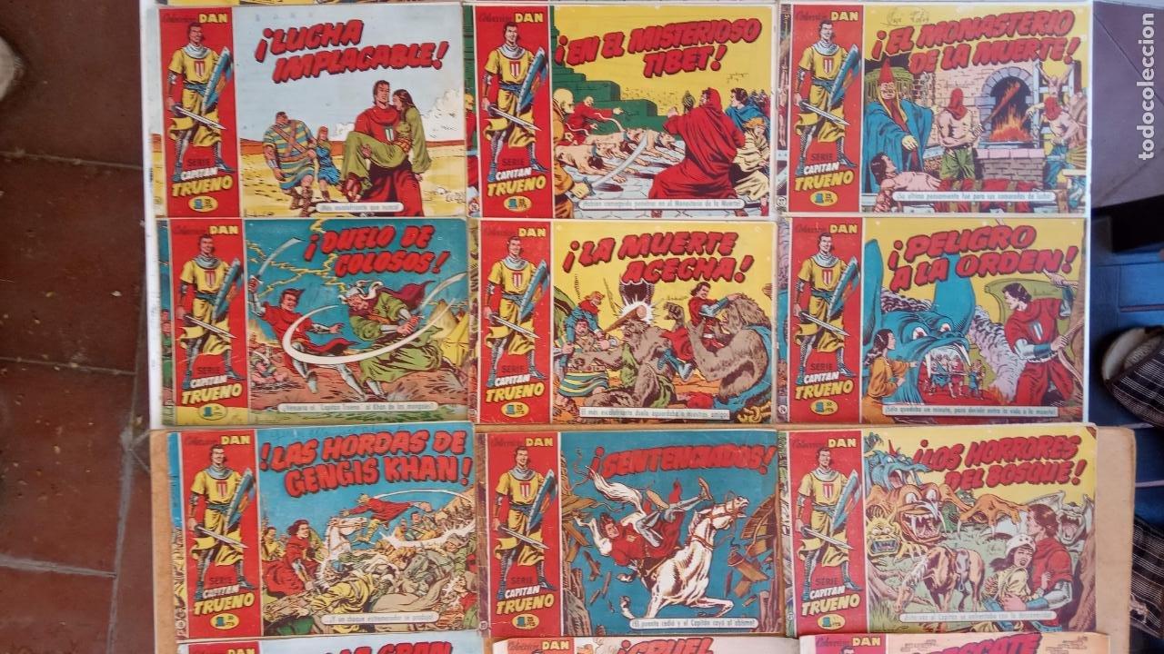Tebeos: EL CAPITÀN TRUENO ORIGINAL AÑO 1956 COMPLETA Y SUELTA 1 AL 618 - VER TODAS LAS PORTADAS, MUY BUENA - Foto 16 - 204841075