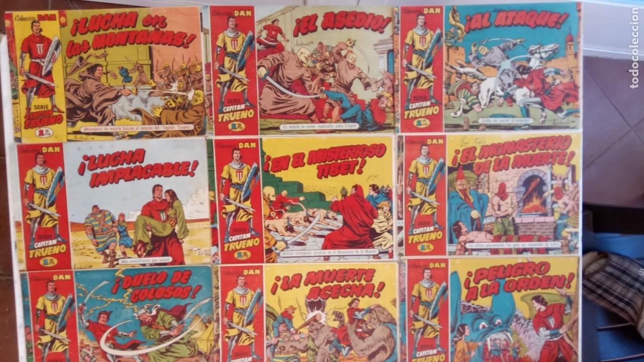 Tebeos: EL CAPITÀN TRUENO ORIGINAL AÑO 1956 COMPLETA Y SUELTA 1 AL 618 - VER TODAS LAS PORTADAS, MUY BUENA - Foto 17 - 204841075