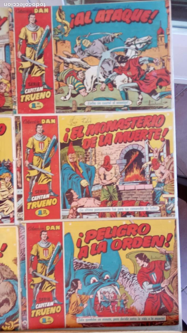 Tebeos: EL CAPITÀN TRUENO ORIGINAL AÑO 1956 COMPLETA Y SUELTA 1 AL 618 - VER TODAS LAS PORTADAS, MUY BUENA - Foto 18 - 204841075