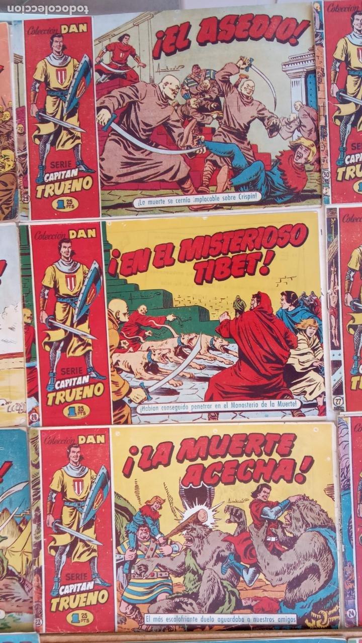 Tebeos: EL CAPITÀN TRUENO ORIGINAL AÑO 1956 COMPLETA Y SUELTA 1 AL 618 - VER TODAS LAS PORTADAS, MUY BUENA - Foto 19 - 204841075