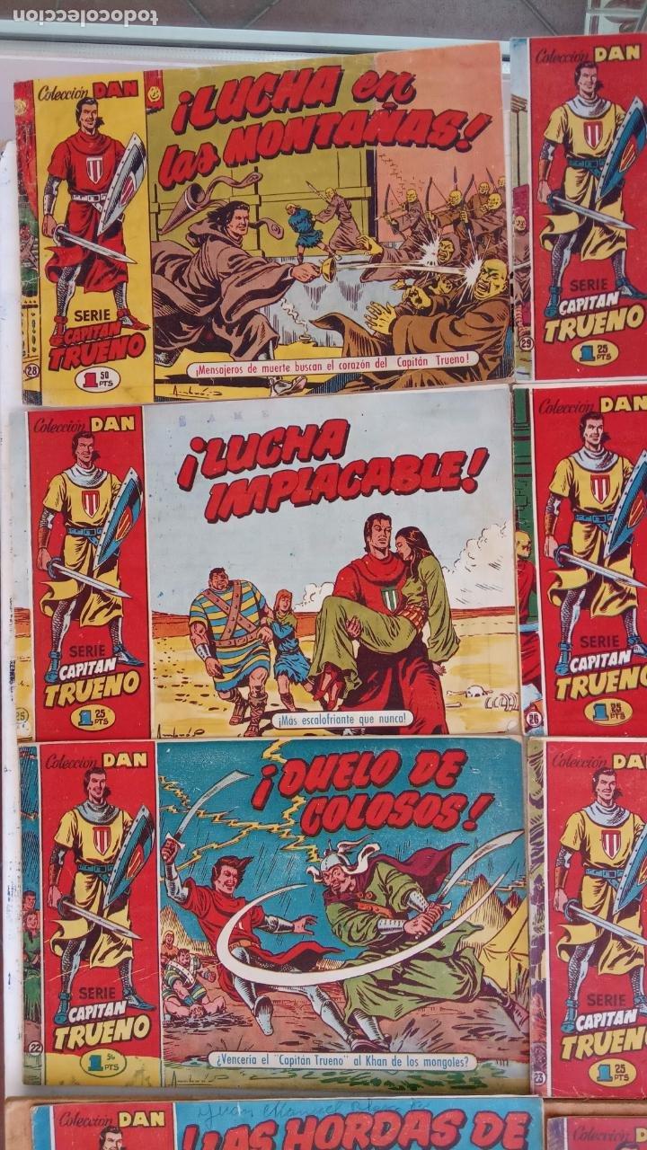 Tebeos: EL CAPITÀN TRUENO ORIGINAL AÑO 1956 COMPLETA Y SUELTA 1 AL 618 - VER TODAS LAS PORTADAS, MUY BUENA - Foto 20 - 204841075