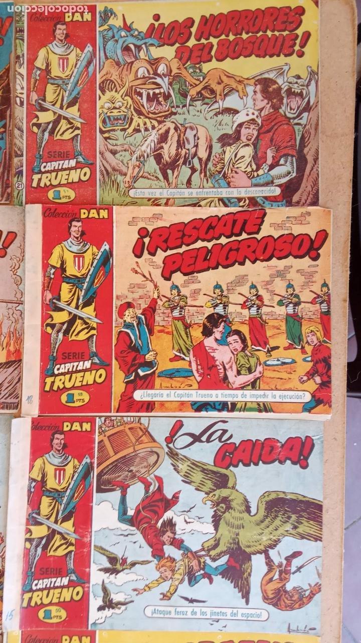 Tebeos: EL CAPITÀN TRUENO ORIGINAL AÑO 1956 COMPLETA Y SUELTA 1 AL 618 - VER TODAS LAS PORTADAS, MUY BUENA - Foto 21 - 204841075