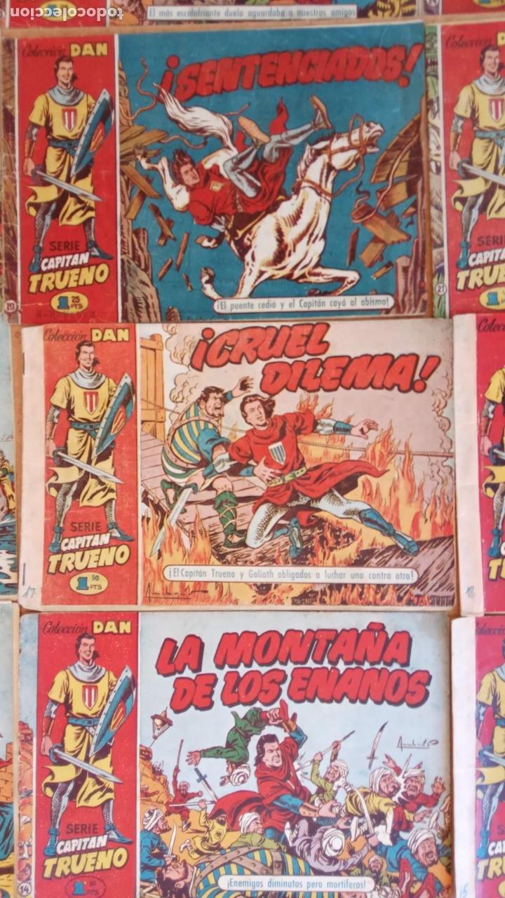 Tebeos: EL CAPITÀN TRUENO ORIGINAL AÑO 1956 COMPLETA Y SUELTA 1 AL 618 - VER TODAS LAS PORTADAS, MUY BUENA - Foto 22 - 204841075