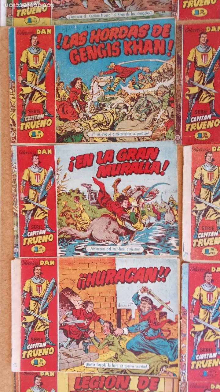 Tebeos: EL CAPITÀN TRUENO ORIGINAL AÑO 1956 COMPLETA Y SUELTA 1 AL 618 - VER TODAS LAS PORTADAS, MUY BUENA - Foto 23 - 204841075