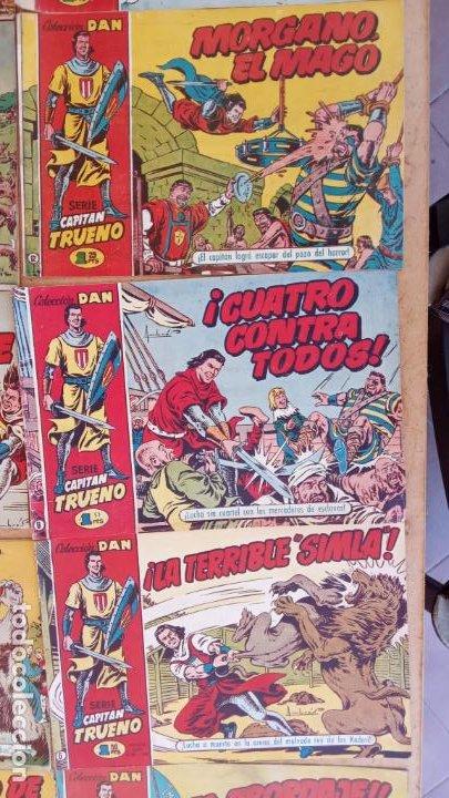 Tebeos: EL CAPITÀN TRUENO ORIGINAL AÑO 1956 COMPLETA Y SUELTA 1 AL 618 - VER TODAS LAS PORTADAS, MUY BUENA - Foto 24 - 204841075