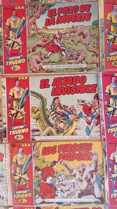 Tebeos: EL CAPITÀN TRUENO ORIGINAL AÑO 1956 COMPLETA Y SUELTA 1 AL 618 - VER TODAS LAS PORTADAS, MUY BUENA - Foto 25 - 204841075