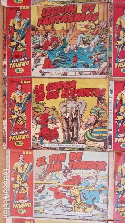 Tebeos: EL CAPITÀN TRUENO ORIGINAL AÑO 1956 COMPLETA Y SUELTA 1 AL 618 - VER TODAS LAS PORTADAS, MUY BUENA - Foto 26 - 204841075