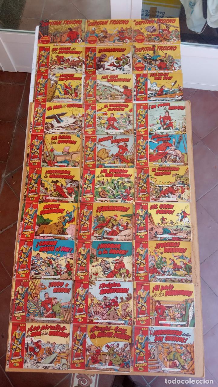 Tebeos: EL CAPITÀN TRUENO ORIGINAL AÑO 1956 COMPLETA Y SUELTA 1 AL 618 - VER TODAS LAS PORTADAS, MUY BUENA - Foto 31 - 204841075