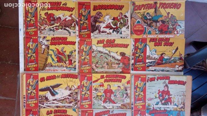 Tebeos: EL CAPITÀN TRUENO ORIGINAL AÑO 1956 COMPLETA Y SUELTA 1 AL 618 - VER TODAS LAS PORTADAS, MUY BUENA - Foto 34 - 204841075