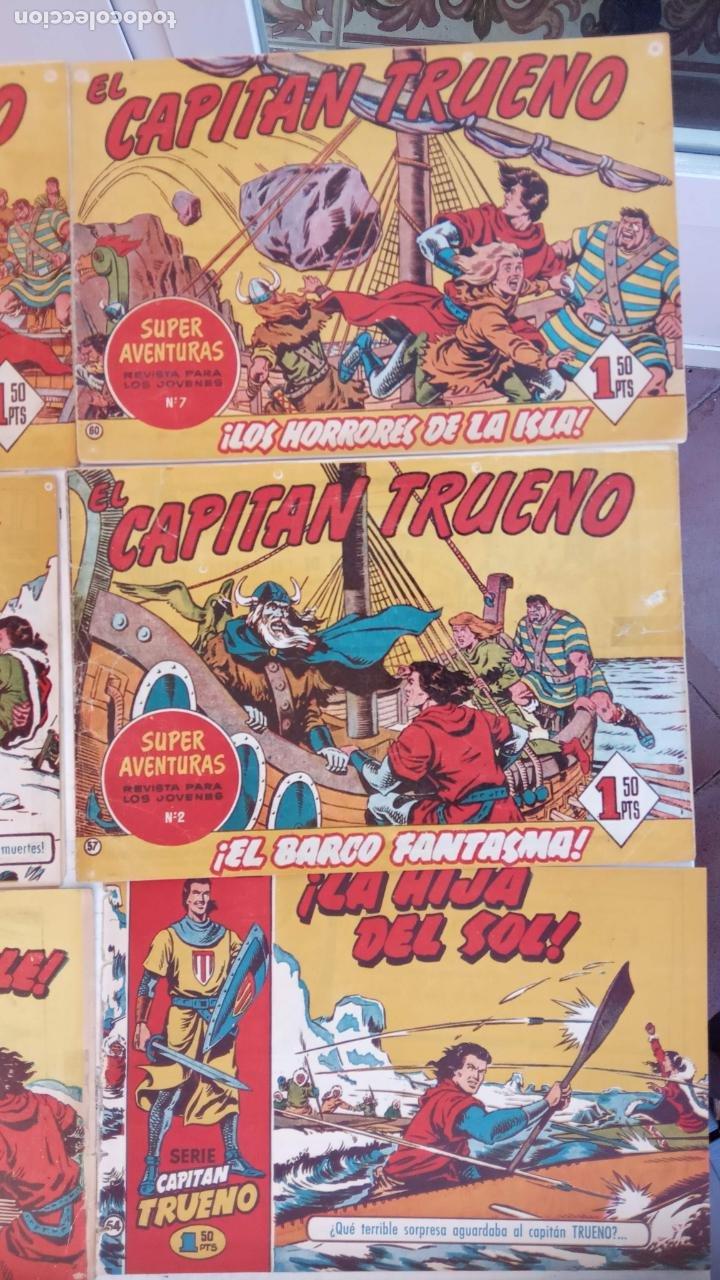 Tebeos: EL CAPITÀN TRUENO ORIGINAL AÑO 1956 COMPLETA Y SUELTA 1 AL 618 - VER TODAS LAS PORTADAS, MUY BUENA - Foto 35 - 204841075