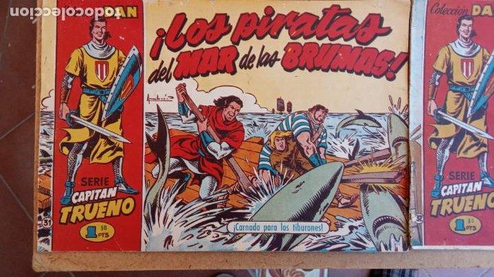 Tebeos: EL CAPITÀN TRUENO ORIGINAL AÑO 1956 COMPLETA Y SUELTA 1 AL 618 - VER TODAS LAS PORTADAS, MUY BUENA - Foto 38 - 204841075