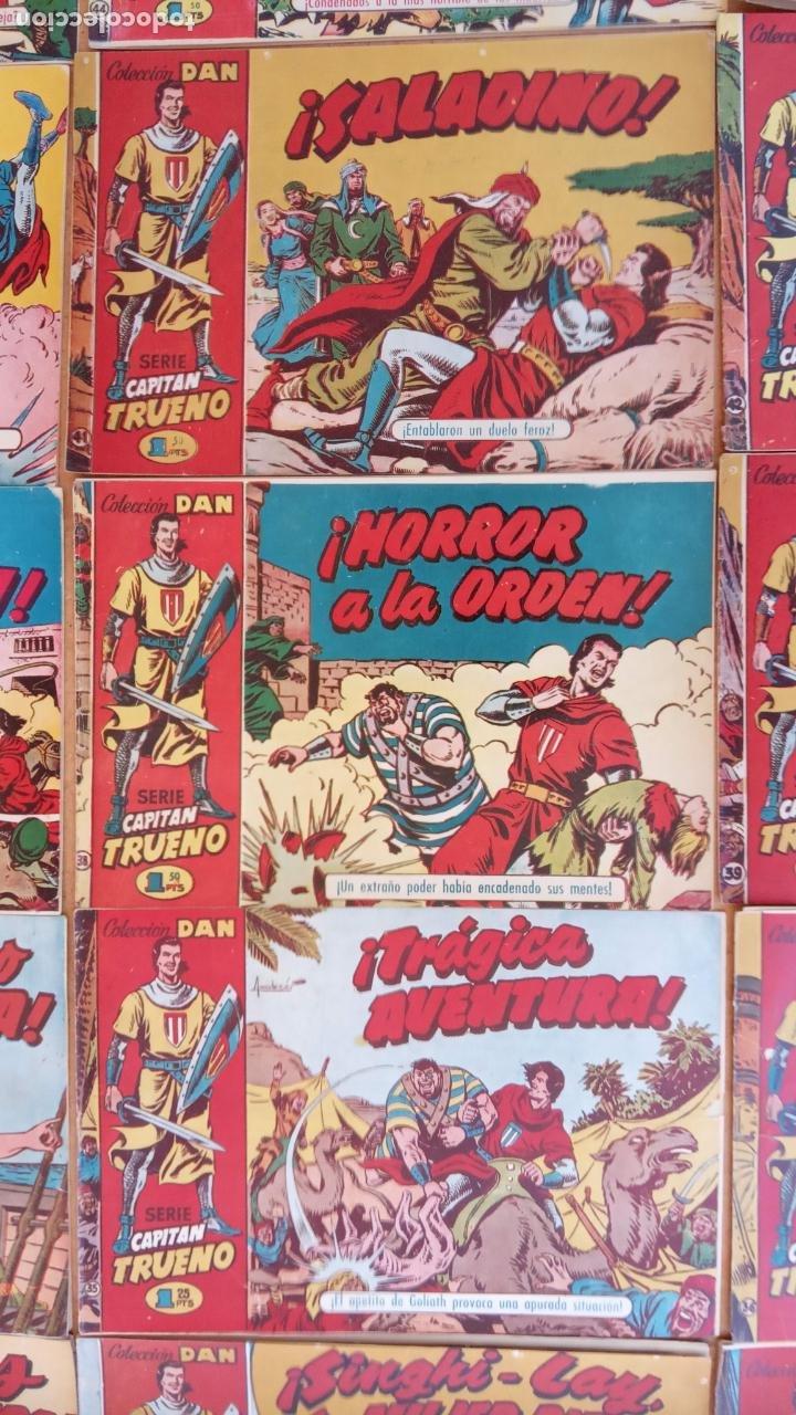 Tebeos: EL CAPITÀN TRUENO ORIGINAL AÑO 1956 COMPLETA Y SUELTA 1 AL 618 - VER TODAS LAS PORTADAS, MUY BUENA - Foto 40 - 204841075