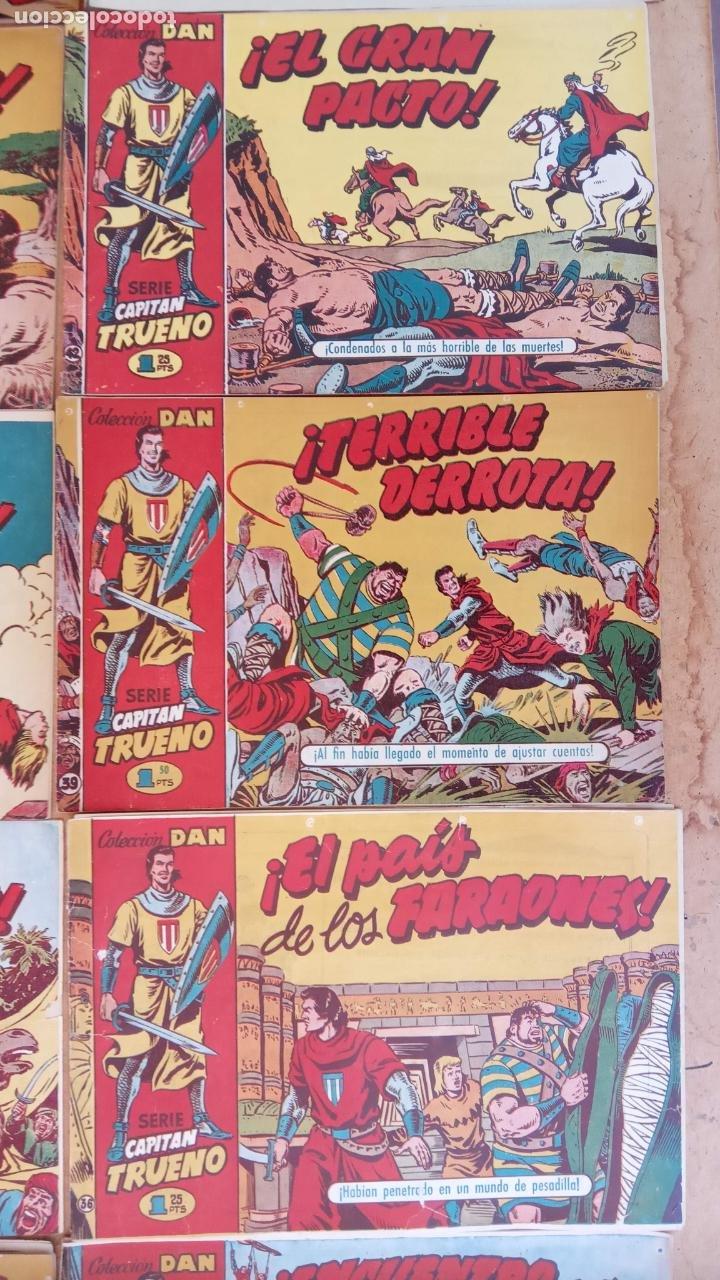 Tebeos: EL CAPITÀN TRUENO ORIGINAL AÑO 1956 COMPLETA Y SUELTA 1 AL 618 - VER TODAS LAS PORTADAS, MUY BUENA - Foto 41 - 204841075