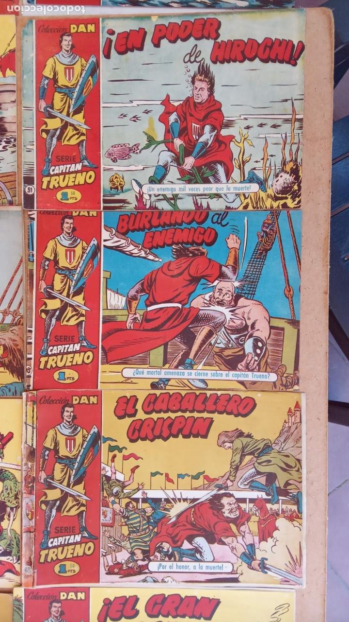 Tebeos: EL CAPITÀN TRUENO ORIGINAL AÑO 1956 COMPLETA Y SUELTA 1 AL 618 - VER TODAS LAS PORTADAS, MUY BUENA - Foto 42 - 204841075