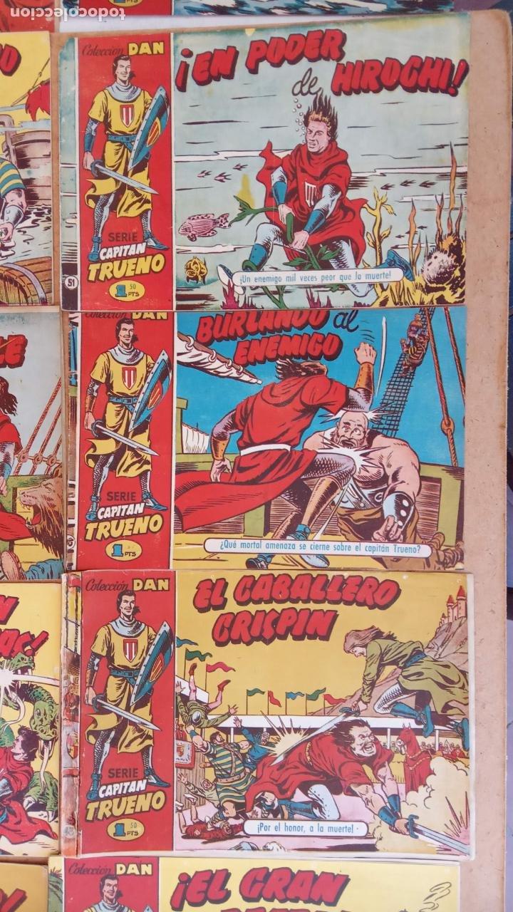 Tebeos: EL CAPITÀN TRUENO ORIGINAL AÑO 1956 COMPLETA Y SUELTA 1 AL 618 - VER TODAS LAS PORTADAS, MUY BUENA - Foto 43 - 204841075
