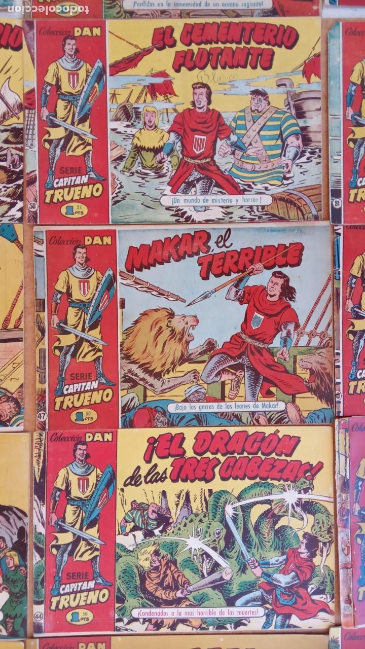 Tebeos: EL CAPITÀN TRUENO ORIGINAL AÑO 1956 COMPLETA Y SUELTA 1 AL 618 - VER TODAS LAS PORTADAS, MUY BUENA - Foto 44 - 204841075