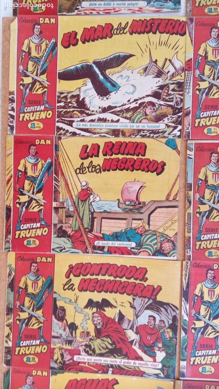 Tebeos: EL CAPITÀN TRUENO ORIGINAL AÑO 1956 COMPLETA Y SUELTA 1 AL 618 - VER TODAS LAS PORTADAS, MUY BUENA - Foto 45 - 204841075