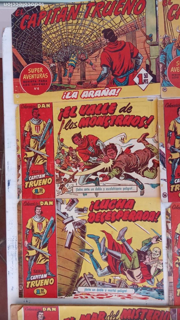 Tebeos: EL CAPITÀN TRUENO ORIGINAL AÑO 1956 COMPLETA Y SUELTA 1 AL 618 - VER TODAS LAS PORTADAS, MUY BUENA - Foto 46 - 204841075