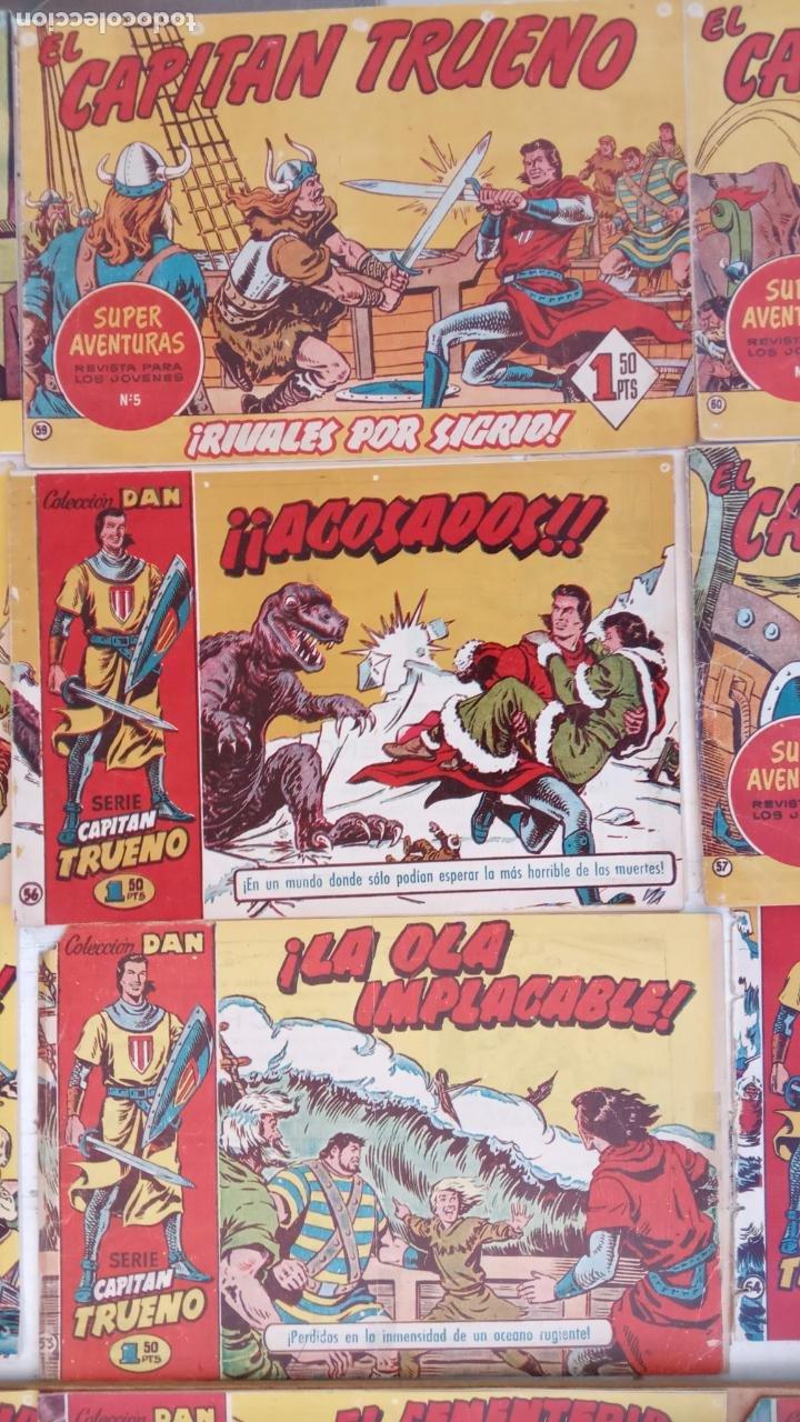 Tebeos: EL CAPITÀN TRUENO ORIGINAL AÑO 1956 COMPLETA Y SUELTA 1 AL 618 - VER TODAS LAS PORTADAS, MUY BUENA - Foto 47 - 204841075