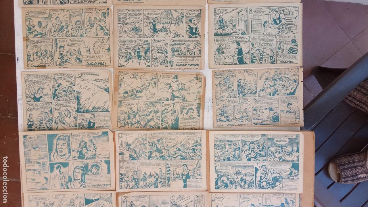 Tebeos: EL CAPITÀN TRUENO ORIGINAL AÑO 1956 COMPLETA Y SUELTA 1 AL 618 - VER TODAS LAS PORTADAS, MUY BUENA - Foto 52 - 204841075