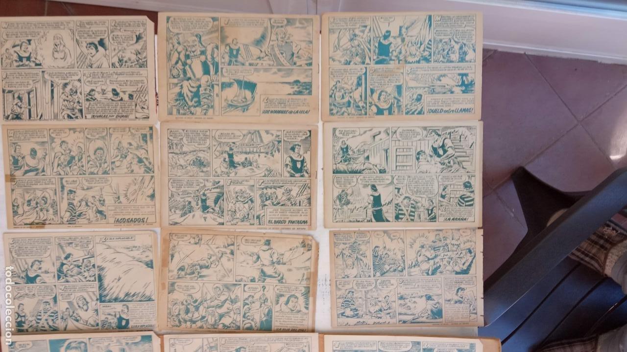 Tebeos: EL CAPITÀN TRUENO ORIGINAL AÑO 1956 COMPLETA Y SUELTA 1 AL 618 - VER TODAS LAS PORTADAS, MUY BUENA - Foto 53 - 204841075