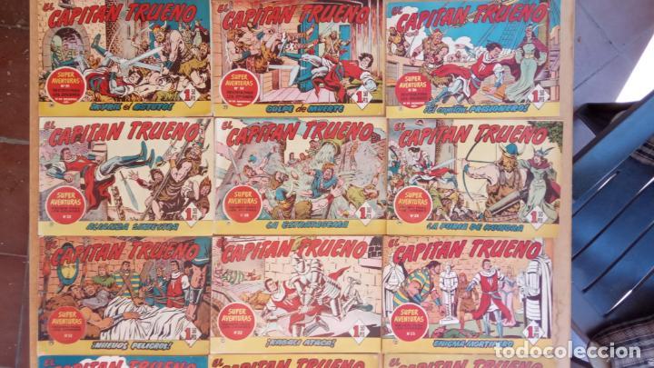 Tebeos: EL CAPITÀN TRUENO ORIGINAL AÑO 1956 COMPLETA Y SUELTA 1 AL 618 - VER TODAS LAS PORTADAS, MUY BUENA - Foto 55 - 204841075