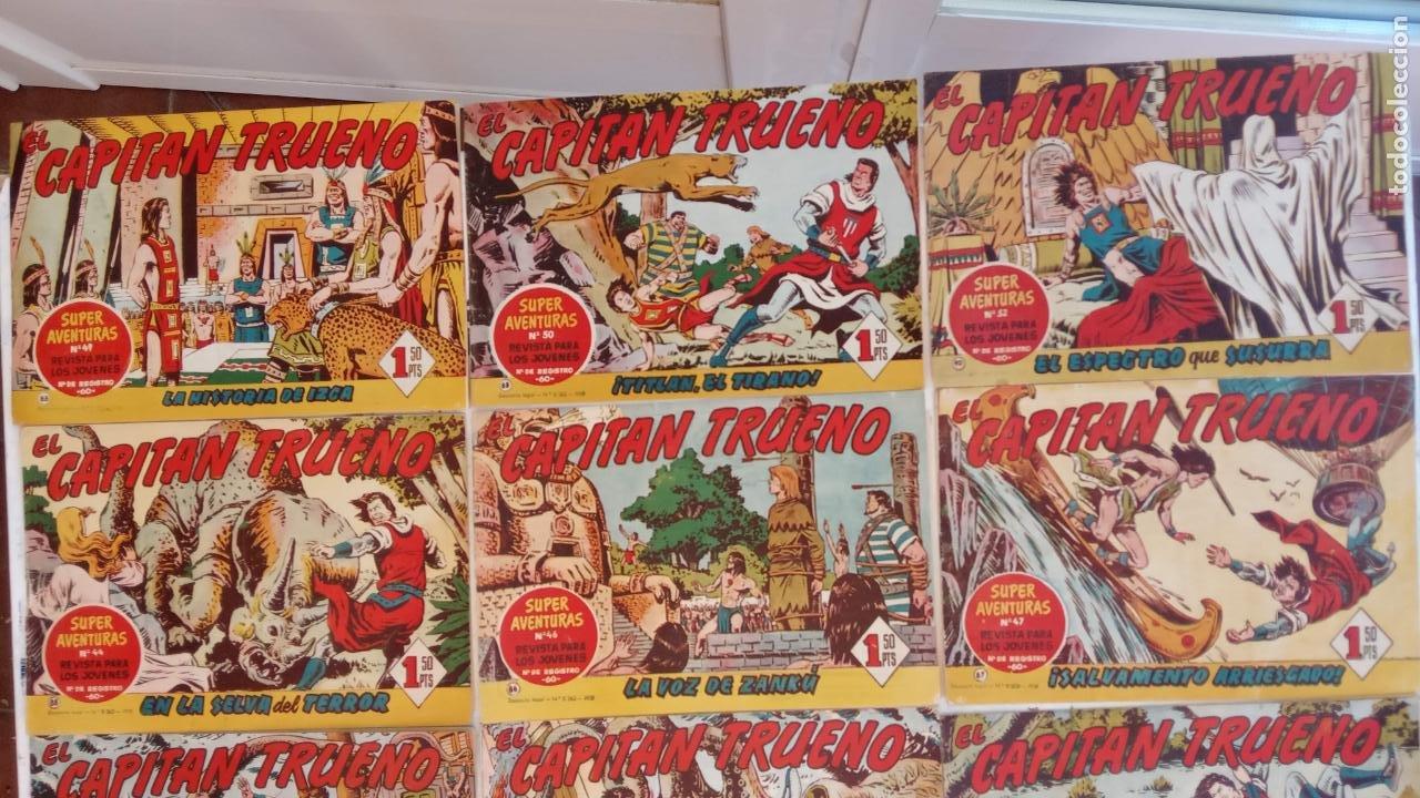 Tebeos: EL CAPITÀN TRUENO ORIGINAL AÑO 1956 COMPLETA Y SUELTA 1 AL 618 - VER TODAS LAS PORTADAS, MUY BUENA - Foto 57 - 204841075