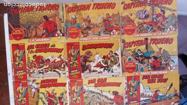 Tebeos: EL CAPITÀN TRUENO ORIGINAL AÑO 1956 COMPLETA Y SUELTA 1 AL 618 - VER TODAS LAS PORTADAS, MUY BUENA - Foto 58 - 204841075