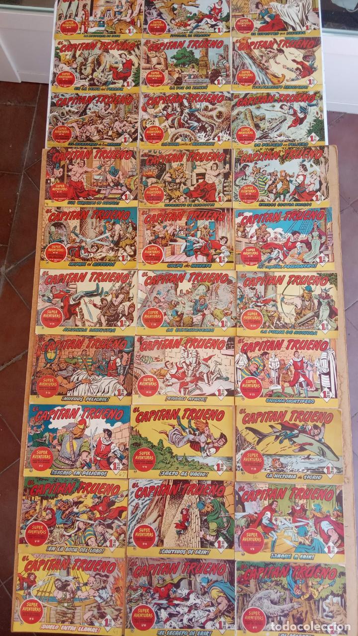 Tebeos: EL CAPITÀN TRUENO ORIGINAL AÑO 1956 COMPLETA Y SUELTA 1 AL 618 - VER TODAS LAS PORTADAS, MUY BUENA - Foto 59 - 204841075