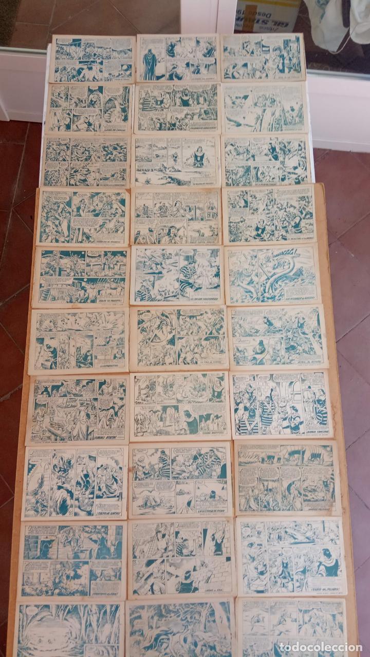 Tebeos: EL CAPITÀN TRUENO ORIGINAL AÑO 1956 COMPLETA Y SUELTA 1 AL 618 - VER TODAS LAS PORTADAS, MUY BUENA - Foto 60 - 204841075