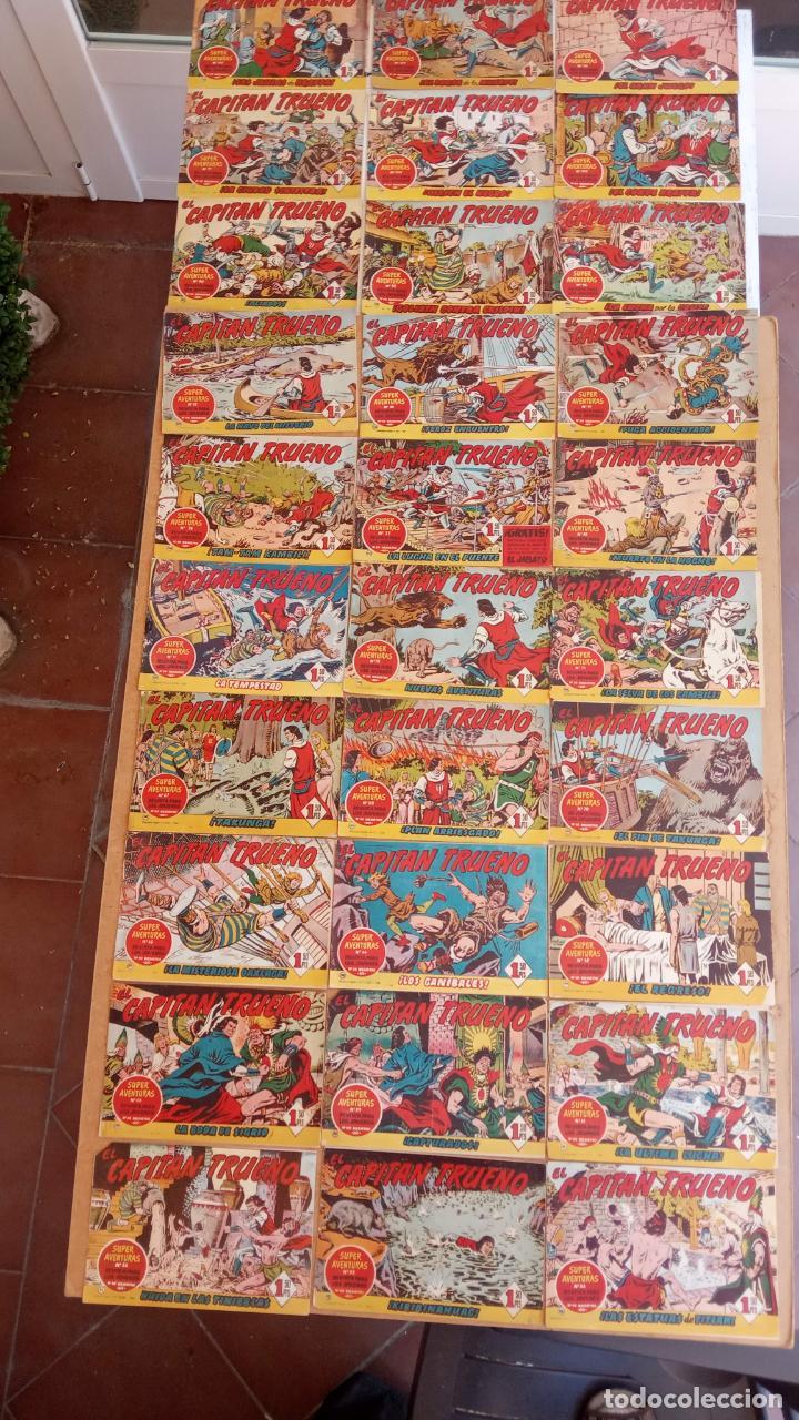 Tebeos: EL CAPITÀN TRUENO ORIGINAL AÑO 1956 COMPLETA Y SUELTA 1 AL 618 - VER TODAS LAS PORTADAS, MUY BUENA - Foto 61 - 204841075