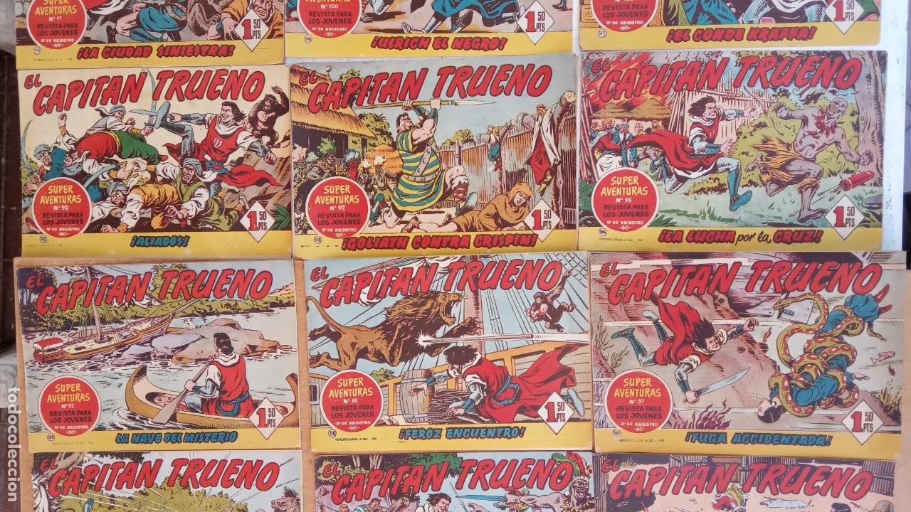 Tebeos: EL CAPITÀN TRUENO ORIGINAL AÑO 1956 COMPLETA Y SUELTA 1 AL 618 - VER TODAS LAS PORTADAS, MUY BUENA - Foto 70 - 204841075