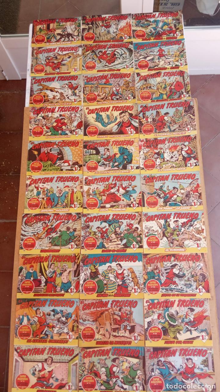 Tebeos: EL CAPITÀN TRUENO ORIGINAL AÑO 1956 COMPLETA Y SUELTA 1 AL 618 - VER TODAS LAS PORTADAS, MUY BUENA - Foto 76 - 204841075