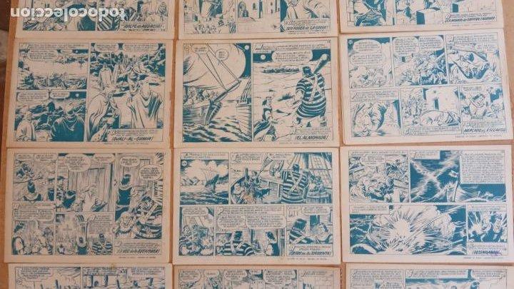Tebeos: EL CAPITÀN TRUENO ORIGINAL AÑO 1956 COMPLETA Y SUELTA 1 AL 618 - VER TODAS LAS PORTADAS, MUY BUENA - Foto 79 - 204841075