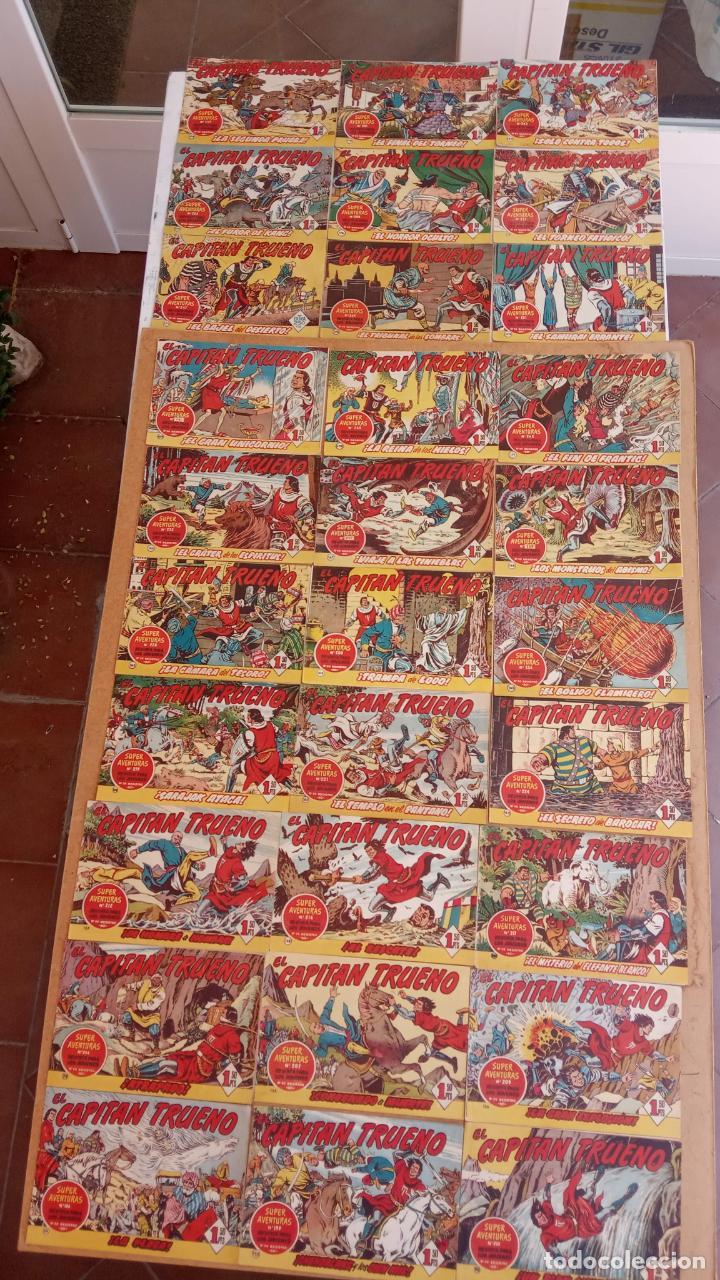 Tebeos: EL CAPITÀN TRUENO ORIGINAL AÑO 1956 COMPLETA Y SUELTA 1 AL 618 - VER TODAS LAS PORTADAS, MUY BUENA - Foto 84 - 204841075