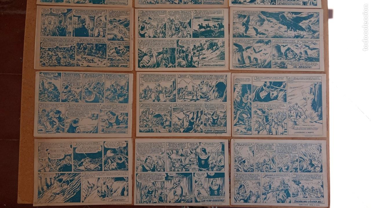 Tebeos: EL CAPITÀN TRUENO ORIGINAL AÑO 1956 COMPLETA Y SUELTA 1 AL 618 - VER TODAS LAS PORTADAS, MUY BUENA - Foto 90 - 204841075