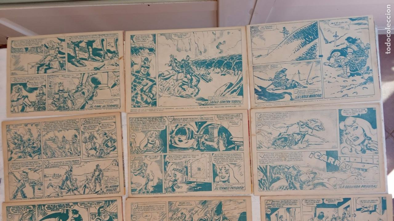 Tebeos: EL CAPITÀN TRUENO ORIGINAL AÑO 1956 COMPLETA Y SUELTA 1 AL 618 - VER TODAS LAS PORTADAS, MUY BUENA - Foto 93 - 204841075